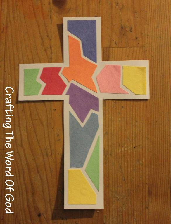 Mosaic Cross Crafting The Word Of God