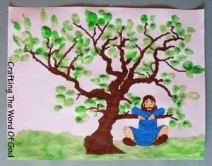 sycamore tree preschool zacchaeus 171 crafting the word of god 801