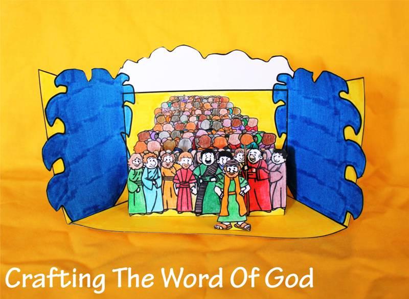 Israelites Cross The Red Sea Craft