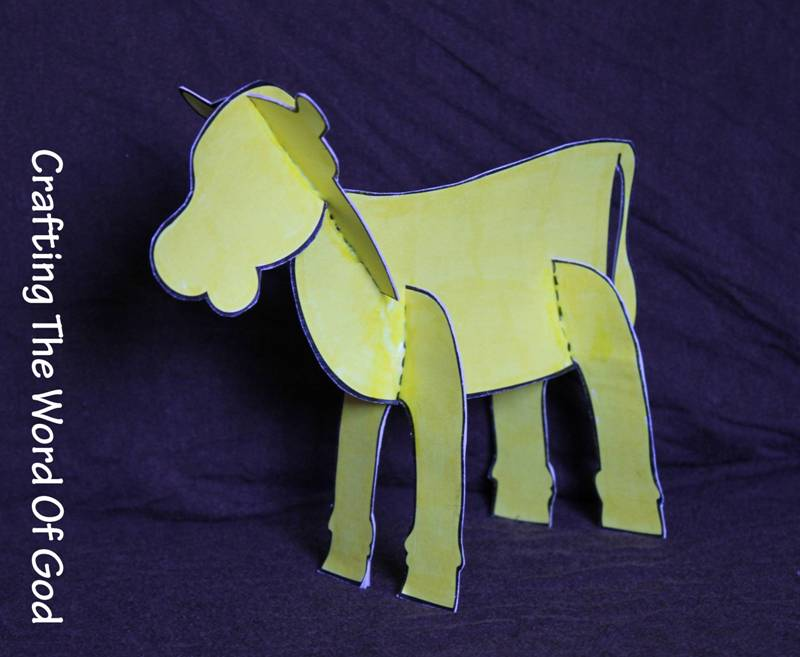 Israel And The Golden Calf Craft For Sunday School