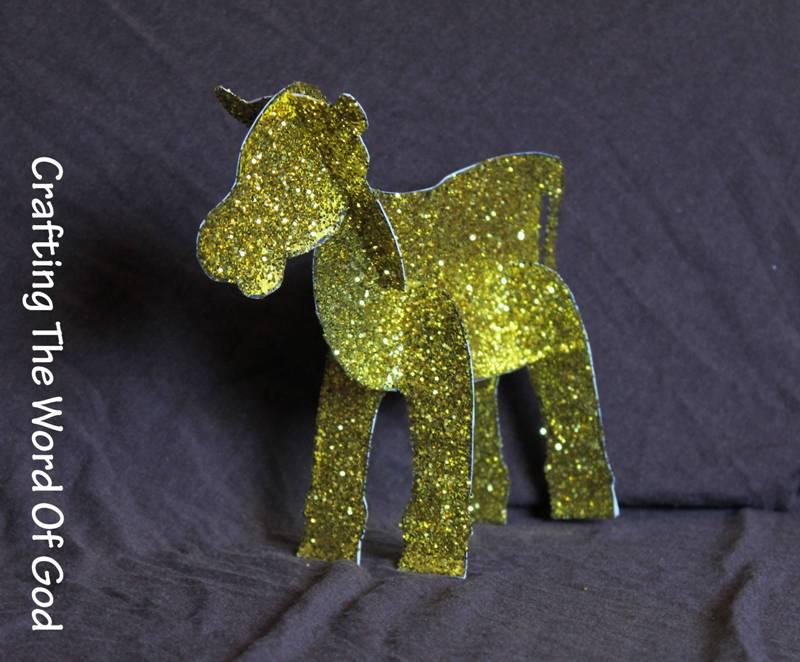 golden calf idol  u00ab crafting the word of god