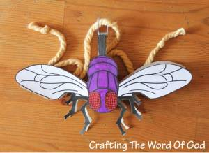 The Plague Of Flies Fly String Toy