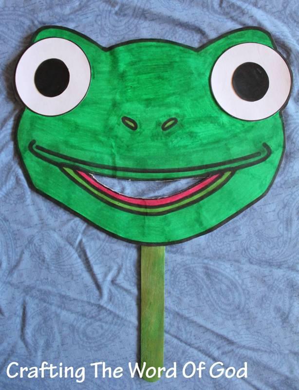 Frog Plague Craft