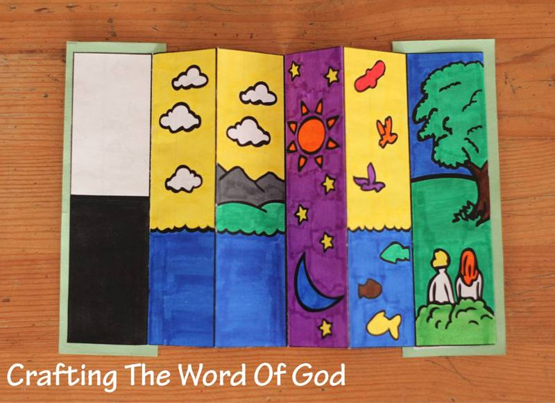 creation crafting the word of god