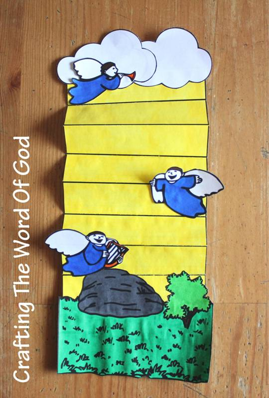 Jacobs ladder crafting the word of god for Jacob and esau crafts