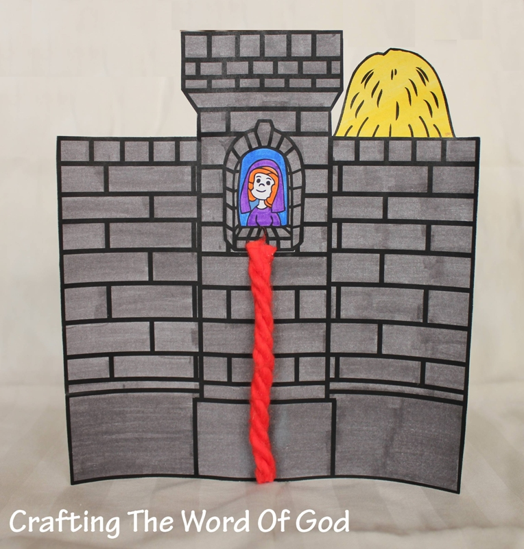 Rahab Hides The Two Spies Crafting Word Of God