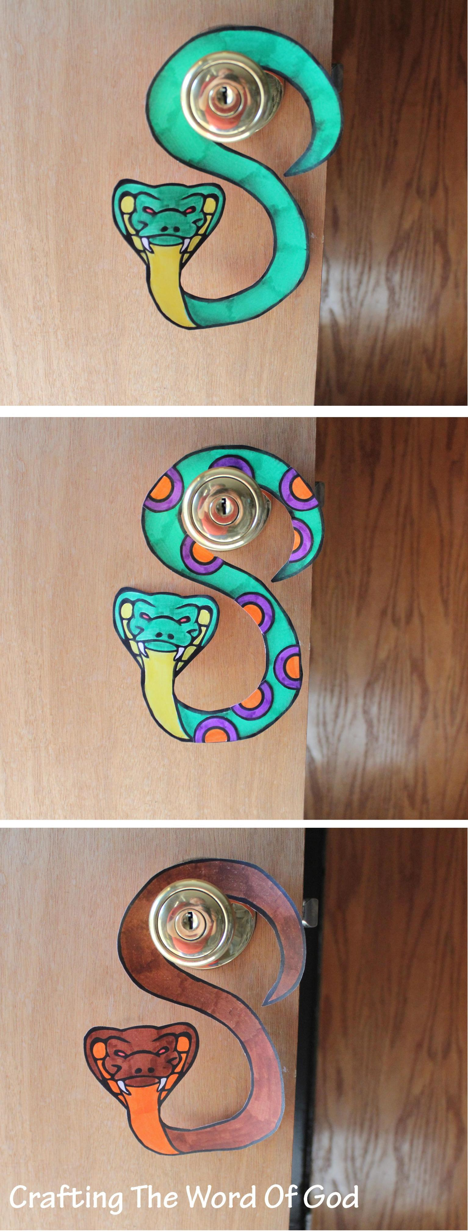 Snake Door Hanger 171 Crafting The Word Of God