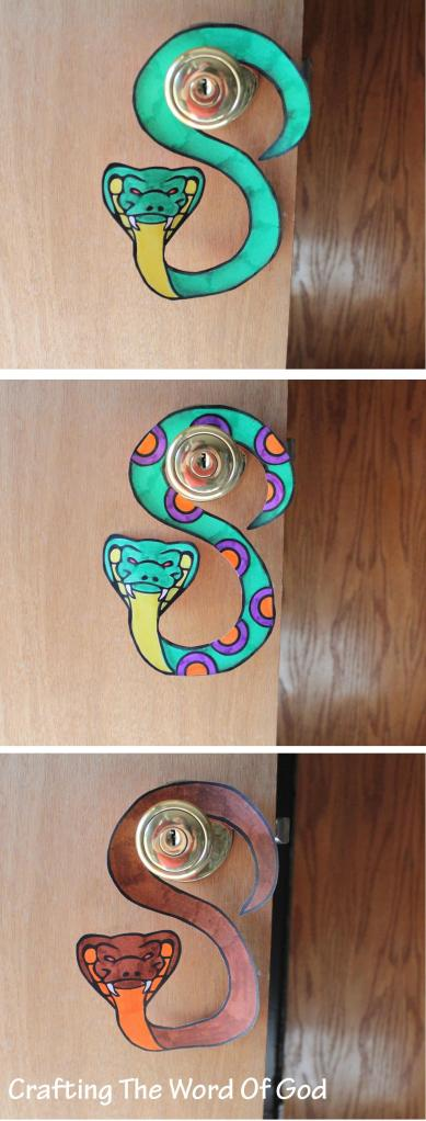 Snake Door Hanger