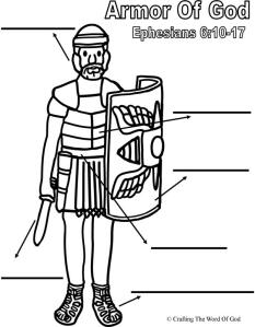 The Armor Of God- Activity Sheet « Crafting The Word Of God