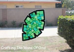 Palm Leaf Sun Catcher 171 Crafting The Word Of God