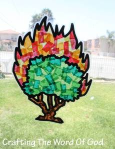 Burning Bush Sun Catcher