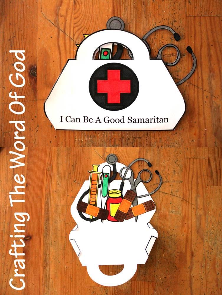 Craft Ideas For The Good Samaritan Story