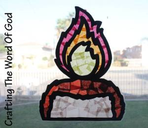 Day Of Pentecost Sun Catcher