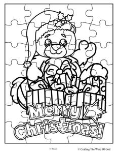 Christmas Bear Puzzle