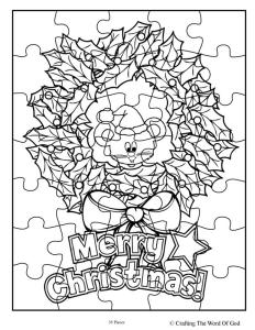 Christmas Wreath Puzzle