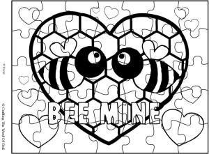 Bee Mine Puzzle