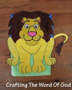 Daniel In The Lions Den Puppet 1