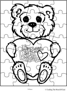 I Love You Beary Much Puzzle