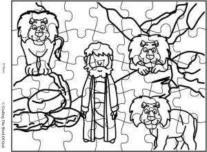 Daniel In The Lions Den Puzzle
