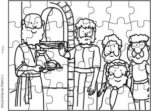 Daniel Refused The Kings Food Puzzle