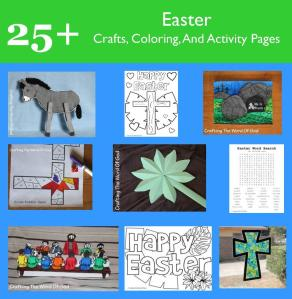 25 Plus Easter Crafts Coloring And Activity Pages