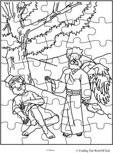 Elijah Fed By God Puzzle