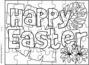 Happy Easter 1 Puzzle