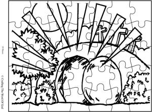 The Empty Tomb Puzzle- Activity Sheet « Crafting The Word
