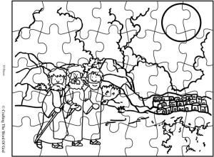 Road To Emmaus Puzzle