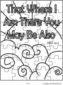 That Where I Am There You May Be Also Puzzle