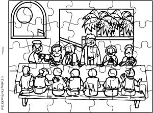 The Lords Supper Puzzle