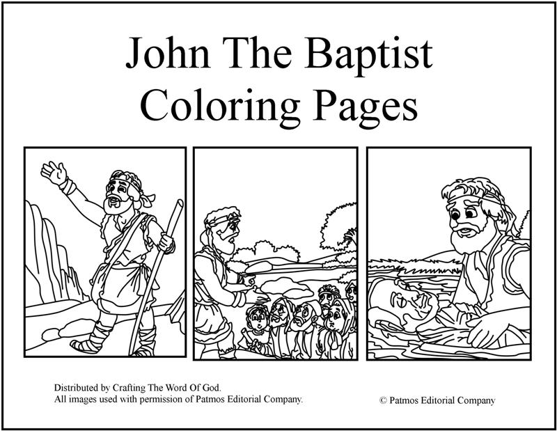 John The Baptist Crafting The