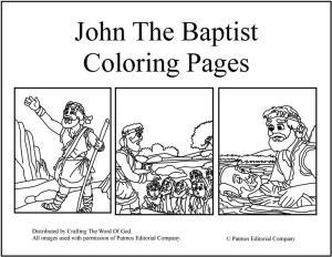 John The Baptist And Jesus For Kids John the Baptist &#171...