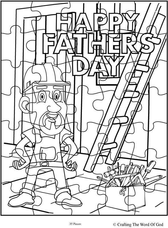 fathers day coloring pages activity - photo#27