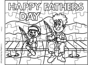 Happy Fathers Day 3 Puzzle- Activity Sheet « Crafting The