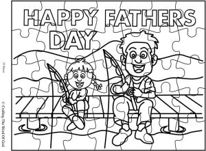 Happy Fathers Day 3 Puzzle