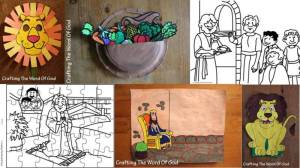 Daniel Crafts, Coloring Pages And Activity Sheets