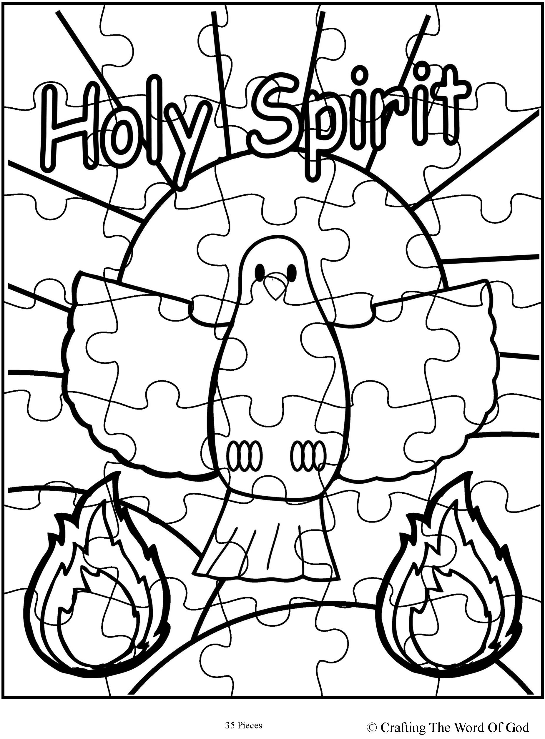 Holy Spirit 171 Crafting The Word Of God Holy Spirit Coloring Pages