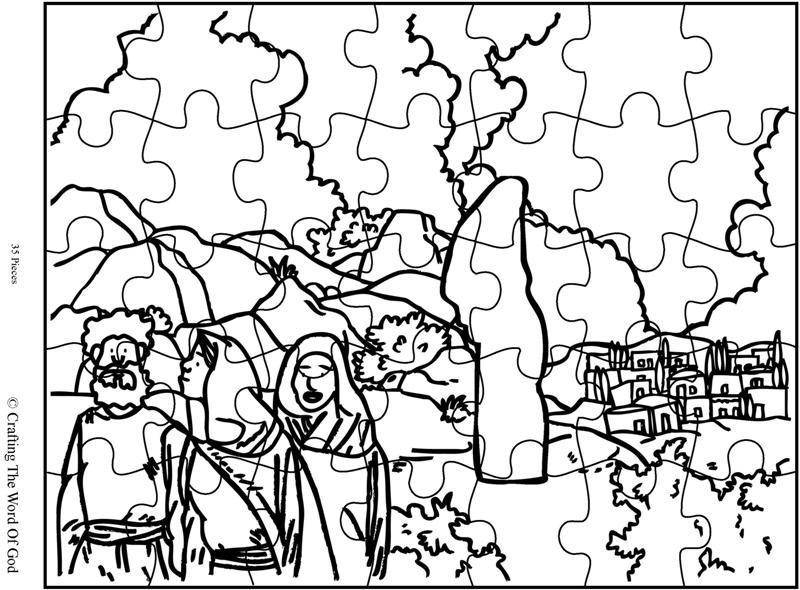 Sodom crafting the word of god Lot's Wife Clip Art Rich Young Ruler Coloring Page Pillar of Salt Craft