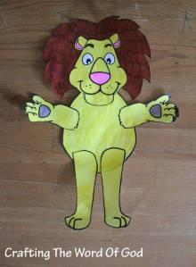 Daniel Lion Puppet