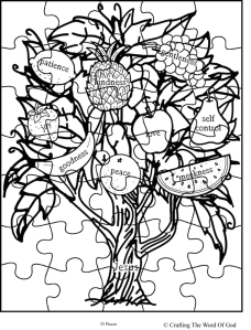 Fruit Of The Spirit (Jesus Is The Vine) Puzzle