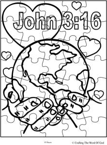 God So Loved The World Puzzle