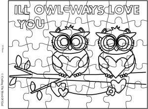 Ill Owl-ways Love You Puzzle