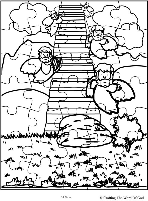 Jacob S Ladder Puzzle Activity Sheet 171 Crafting The Word