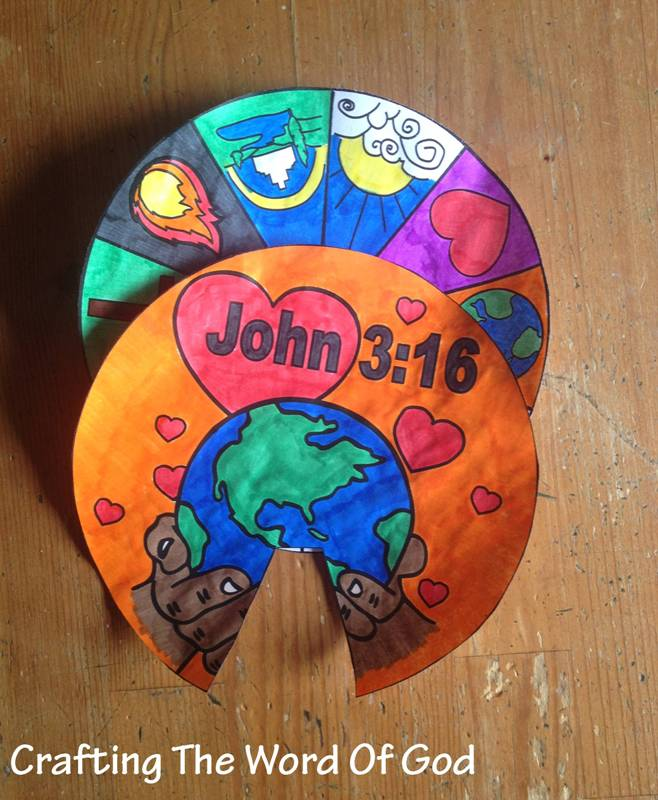 creation craft ideas 3 16 wheel 171 crafting the word of god 1805