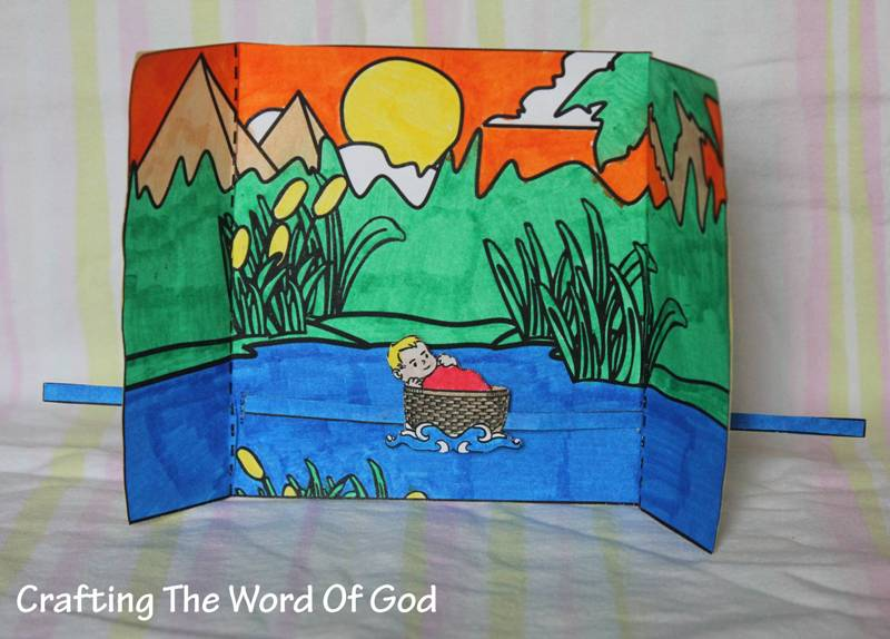 Moses In The River Crafting The Word Of God
