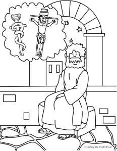 Nicodemus Coloring Page 2