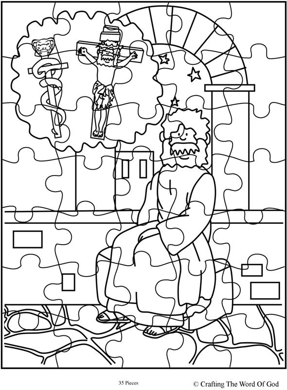 Nicodemus Puzzle 2 Activity Sheet  Crafting The Word Of God