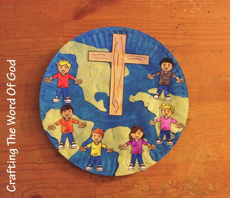 Jesus Loves The Little Children Crafting The Word Of God