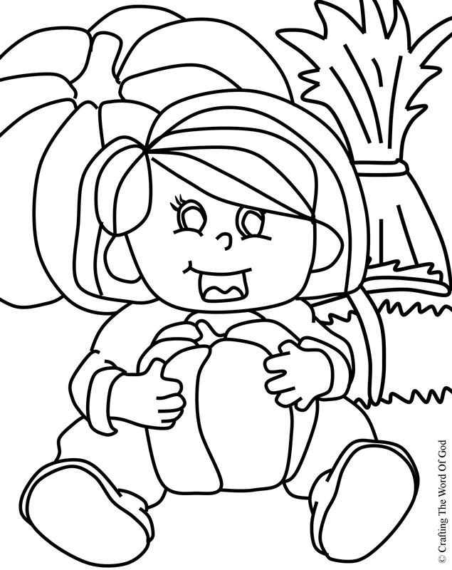 Thanksgiving coloring page 8 coloring page crafting the for Thanksgiving sunday school coloring pages